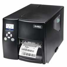 "Godex EZ-2250i, 203 DPI, 7 ips, color LCD, RS232/USB/TCPIP+USB HOST, 1"" core - 011-22iF02-001 (000)"