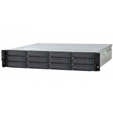 Infortrend EonStor GS1000 3U/16x3.5, NAS, block,dual controller, 2x12Gb SAS EXP. Port, 8x1G iSCSI +2x host board slot(s), 4x4GB, 2x(PSU+FAN), 2x(SuperCap.+Flash), 1xRackmount kit(GS1016R2C0F0D-8732) - GS 1016R2CF-D