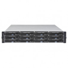 2U/12bay dual controller 4x 12GbSAS ports, 2x(PSU+FAN module), 12xGS drive trays, 2x 12G to 12G SAScables for 12G storage or expansion enclosure and 1xRackmount kit