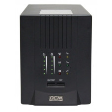 Powercom Smart King Pro+ SPT-1000, Line-Interactive, LCD, 1000VA/800W, SNMP Slot, black [SPT-1000-II LCD]
