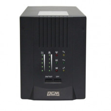 Powercom Smart King Pro+ SPT-1500, Line-Interactive, LCD, 1500VA/1200W, SNMP Slot, black [SPT-1500-II LCD]