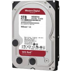 Western Digital HDD SATA-III  3000Gb Red for NAS WD30EFAX, 5400RPM, 256MB buffer - WD30EFAX