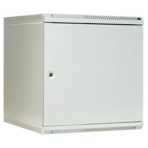 Шкаф телекоммуникационный настенный 9U (600х480) дверь металл