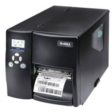 "Godex EZ-2350i+, 300 DPI, 5 ips, Color LCD, 1"" core, RS232/USB/TCPIP+USB HOST"