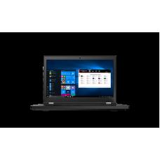 "ThinkPad P15 Gen 1 15.6"" FHD (1920x1080) IPS AG 500N, i7-10750H 2.6G, 16GB SO-DIMM DDR4-3200, 512GB SSD M.2, T1000 4GB, WiFi 6, BT, NoWWAN, FPR, SCR, IR Cam, 6сell 94Wh,170W, Win 10 Pro, 3Y PS, 2.75kg"