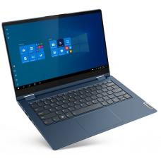 """Lenovo ThinkBook 14s Yoga ITL 14"""" FHD (1920x1080) GL MT 300N, i7-1165G7 2.8G, 2x8GB DDR4 3200, 512GB SSD M.2, Iris Xe, WiFi 6, BT, FPR, HD Cam, 4cell 60Wh, Win 10 Pro, 1Y CI, Abyss Blue, 1.5kg - 20WE0023RU"""
