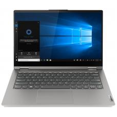 """Lenovo ThinkBook 14s Yoga ITL 14"""" FHD (1920x1080) GL MT 300N, i5-1135G7 2.4G, 8GB DDR4 3200, 512GB SSD M.2, Iris Xe, WiFi 6, BT, FPR, HD Cam, 4cell 60Wh, NoOS, 1Y CI, Mineral Grey, 1.5kg - 20WE0030RU"""
