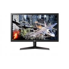 """LG 23.6"""" 24GL600F-B IPS LED, 1920x1080, Gaming, 1ms, 300cd/m2, 1000:1 (Mega DCR), 170°/160°, 2*HDMI, DisplayPort, Tilt, 144Hz, FreeSync, VESA, Black - 24GL600F-B"""