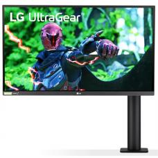 """LG 27"""" 27GN880-B Nano IPS LED, 2560x1440, 1ms, 178°/178°, 350cd/m2, 1000:1, 2*HDMI, DP, 144Hz, HDR10, NVIDIA G-Sync, HAS, Tilt, Подставка Ergo, VESA, Black - 27GN880-B"""