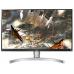 """LG 27"""" 27UL650-W IPS LED 4K, 3840x2160, 5ms, 350cd/m2, Mega DCR, 178°/178°, 2*HDMI, DisplayPort, HDR 400, 60Hz, FreeSync, Headph.Out, HAS, Pivot, Tilt, VESA, Silver-White"""