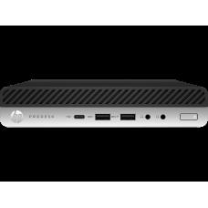 HP ProDesk 600 G5 Mini Core i3-9100T 3.1GHz,8Gb DDR4-2666(1),1Tb 7200,WiFi+BT,USB Kbd+USB Mouse,Stand,VGA,3/3/3yw,FreeDOS