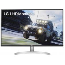 """LG 31.5"""" 32UN500-W VA LED 4K, 3840x2160, 4ms, 360cd/m2, 3000:1, Mega DCR, 178°/178°, 2*HDMI, DP, HDR10, 60Hz, AMD FreeSync, Pivot, Tilt, VESA, Black-Silver-White - 32UN500-W"""