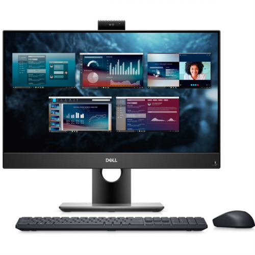 Dell Optiplex 5490 AIO Core i5-10500T (2,3GHz) 23,8'' FullHD (1920x1080) IPS AG Non-Touch8GB (1x8GB) DDR4 256GB SSD + 1TB (7200 rpm) Intel UHD 630 Height Adjustable Stand, TPM W10 Pro 3y ProS+NBD