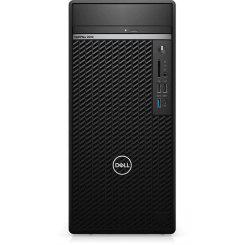 Dell Optiplex 7090 Tower Core i7-10700 (2,9GHz)16GB (1x16GB) DDR4 256GB SSD + 1TB (7200 rpm) NV GTX 1660 Super (6GB)TPM, SD,500W W10 Pro 3y ProS+NBD