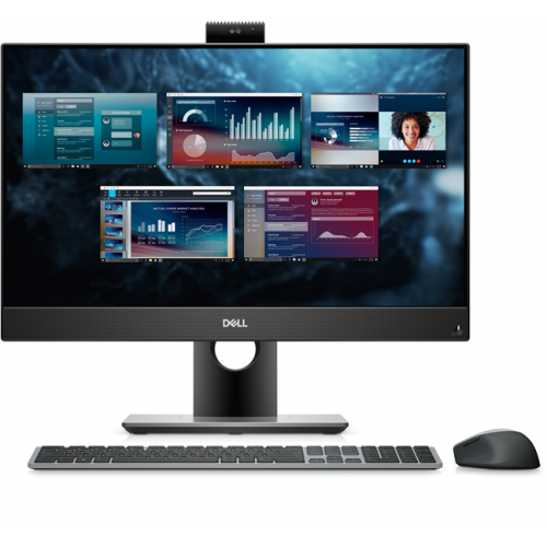 Dell Optiplex 7490 AIO Core i7-10700 (2,9GHz) 23,8'' FullHD (1920x1080) IPS AG Non-Touch 16GB (1x16GB) DDR4 256GB SSD + 1TB (7200 rpm) NV GTX 1650 (4GB) Height Adjustable Stand,TPM W10Pro 3y ProS+NBD