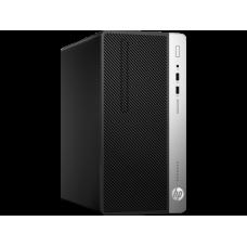 HP ProDesk 400 G6 MT Core i3-9100,8GB,256GB M.2,DVD-WR,USBkbd/mouse,HDMI Port,Win10Pro(64-bit),1-1-1 Wty(repl.4NU29EA) - 7EL67EA#ACB