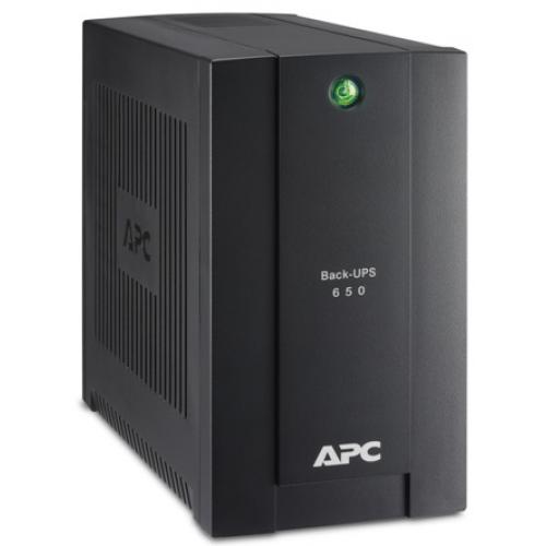 ИБП APC Back-UPS 650VA/360W, 230V, 4 Russian outlets, 2 year warranty - BC650-RSX761
