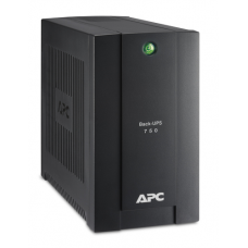 ИБП APC Back-UPS 750VA/415W, 230V, 4 Schuko outlets (1 Surge & 3 batt.), USB, user repl. batt., 2 year warranty - BC750-RS