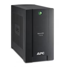 ИБП APC Back-UPS 750VA/415W, 230V, 4 Schuko outlets (1 Surge & 3 batt.), USB, user repl. batt., 2 year warranty - BC750-RS