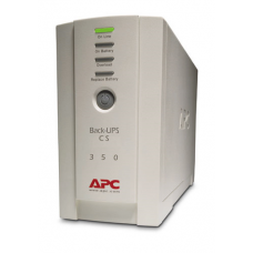 ИБП APC Back-UPS CS 350VA/210W, 230V, 4xC13 outlets (1 Surge & 3 batt.), Data/DSL protection, USB, PCh, user repl. batt., 2 year warranty - BK350EI