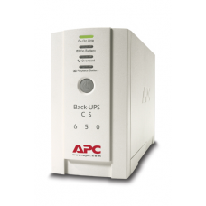 ИБП APC Back-UPS CS 650VA/400W, 230V, 4xC13 outlets (1 Surge & 3 batt.), Data/DSL protection, USB, PCh, user repl. batt., 2 year warranty - BK650EI
