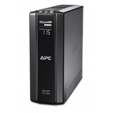 ИБП APC Back-UPS Pro Power Saving, 1200VA/720W, 230V, AVR, 6xRus outlets (3 Surge & 3 batt.), Data/DSL protrct, 10/100 Base-T, USB, PCh, user repl. batt., 2 y warr. - BR1200G-RS