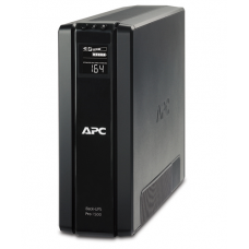 ИБП APC Back-UPS Pro Power Saving, 1500VA/865W, 230V, AVR, 6xRus outlets (3 Surge & 3 batt.), Data/DSL protrct, 10/100 Base-T, USB, PCh, user repl. batt., 2 y warr. - BR1500G-RS