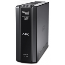 ИБП APC Back-UPS Pro Power Saving RS, 1500VA/865W, 230V, AVR, 10xC13 outlets (5 Surge & 5 batt.), XL (1хBR24BP(G)), Data/DSL protrct, 10/100 Base-T, USB, PCh, user repl. batt., 2 y warr. - BR1500GI