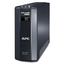 ИБП APC Back-UPS Pro Power Saving, 900VA/540W, 230V, AVR,  8xC13 outlets ( 4 Surge & 4 batt.), Data/DSL protrct, 10/100 Base-T, USB, PCh, user repl. batt., 2 y warr. - BR900GI