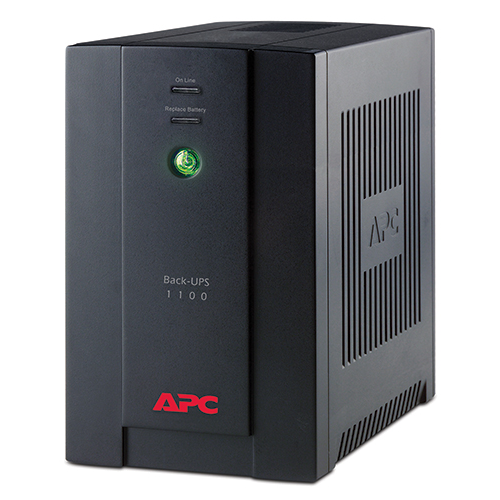 ИБП APC Back-UPS RS, 1100VA/660W, 230V, AVR, 4xRussian outlets (4 batt.), Data/DSL protection, user repl. batt., 2 year warranty (REP.BR1100CI-RS) - BX1100CI-RS