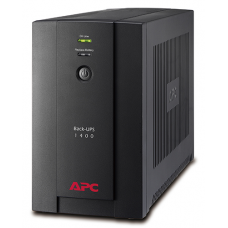 ИБП APC Back-UPS 1400VA/700W, 230V, AVR, Interface Port USB, (6) IEC Sockets, user repl. batt., 2 year warranty - BX1400UI
