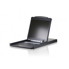 ATEN 19inch (8 Port) LCD Console Rack Panel