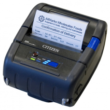 "Citizen CMP-30IIL Mobile Printer (Label) 3"", Bluetooth (iOS+And), USB, Serial, CPCL/ESC, PSU"