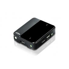 2-Port USB 4KUHD DP/Audio KVM Switch