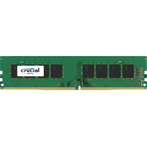 Crucial by Micron  DDR4   4GB  2400MHz UDIMM (PC4-19200) CL17 SRx8 1.2V (Retail) - CT4G4DFS824A