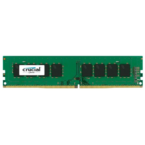 Crucial by Micron  DDR4   4GB  2666MHz UDIMM (PC4-21300) CL19 SRx8 1.2V (Retail) - CT4G4DFS8266