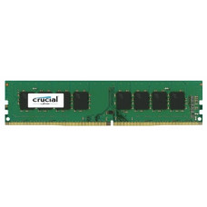 Crucial by Micron  DDR4   8GB  2400MHz UDIMM (PC4-19200) CL17 SRx8 1.2V (Retail) - CT8G4DFS824A