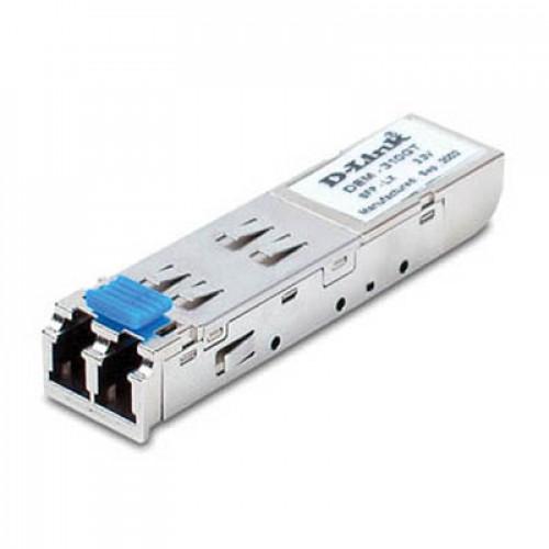 D-Link DEM-310GT, 1-port mini-GBIC LX Single-mode Fiber Transceiver (10km, 3.3V)