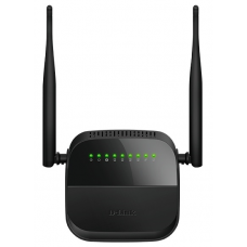 D-Link DSL-2750U/R1A, ADSL2+ Annex A Wireless N300 Router with Ethernet WAN support. 1 RJ-11 DSL port, 4 10/100Base-TX LAN ports, 802.11b/g/n compatible, 802.11n up to 300Mbps with external 5 dBi ante - DSL-2750U/R1A
