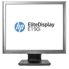 HP EliteDisplay E190i LED 18,9 Monitor 1280x1024, 5:4, IPS, 250 cd/m2, 1000:1, 8ms, 178°/178°, VGA, DVI-D, USB 2.0x3, DisplayPort, Energy Star