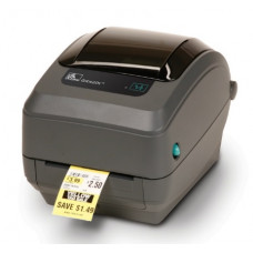 Zebra TT Printer GK420t; 203 dpi, EU and UK Cords, EPL, ZPLII, USB, Serial, Centronics Parallel