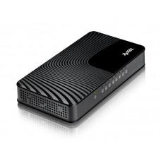 ZyXEL GS-108S Восьмипортовый коммутатор Gigabit Ethernet с  приоритетными портами