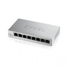 Zyxel Smart коммутатор GS1200-8, 8xGE, настольный, бесшумный, с поддержкой VLAN, IGMP, QoS и Link Aggregation