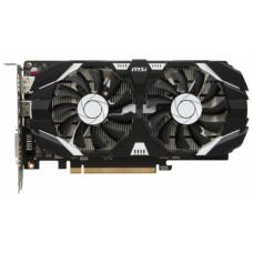 MSI GTX 1050 Ti 4GT OC / NVIDIA GTX 1050 Ti, 4Gb GDDR5/128-bit, PCI-Ex16 3.0, DL-DVI-D, DP(1.4), HDMI(2.0), 2-slot cooler, ATX, RTL