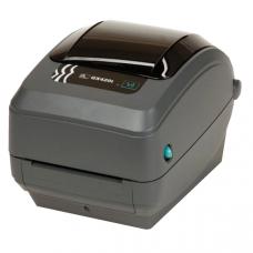 Zebra TT Printer GX420t; 203dpi, EU and UK Cords, EPL2, ZPL II, USB, Serial, Ethernet, Dispenser (Peeler) - GX42-102421-000