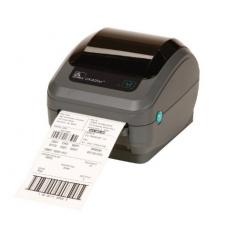 Zebra DT Printer GX420d; 203dpi, EU and UK Cords, EPL2, ZPL II, USB, Serial, Centronics Parallel