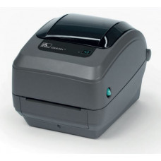 Zebra TT Printer GX430t; 300dpi, EU and UK Cords, EPL2, ZPL II, USB, Serial, Ethernet, Cutter - Liner and Tag - GX43-102422-000