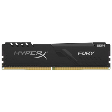Kingston 16GB 3000MHz DDR4 CL15 DIMM HyperX FURY Black 1R 16Gbit - HX430C16FB4/16