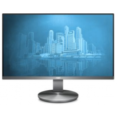"23,8"" AOC I2490VXQ 1920x1080 IPS LED 16:9 4ms VGA HDMI DP 20M:1 178/178 250cd Tilt FlickerFree Speakers Dark Grey"