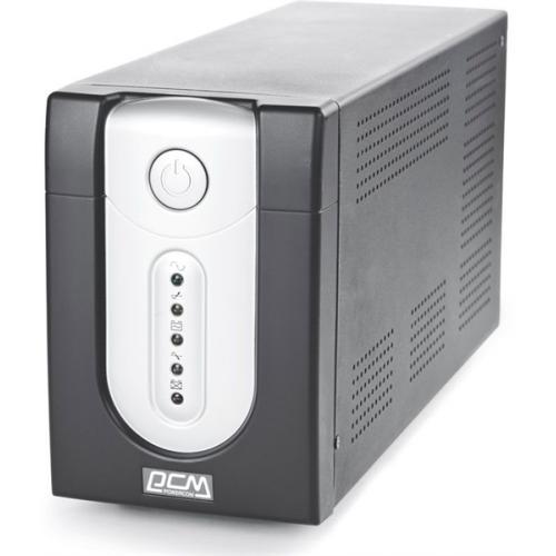 Powercom Back-UPS IMPERIAL, Line-Interactive, 1025VA/615W, Tower, IEC, USB